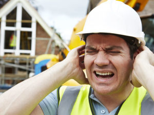 Hearing protection – Do not remove it, even briefly, in high noise environments!